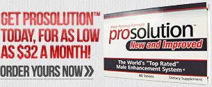 Get Prosolution Pills For As Low as $32 a month! Order Yours NOW!